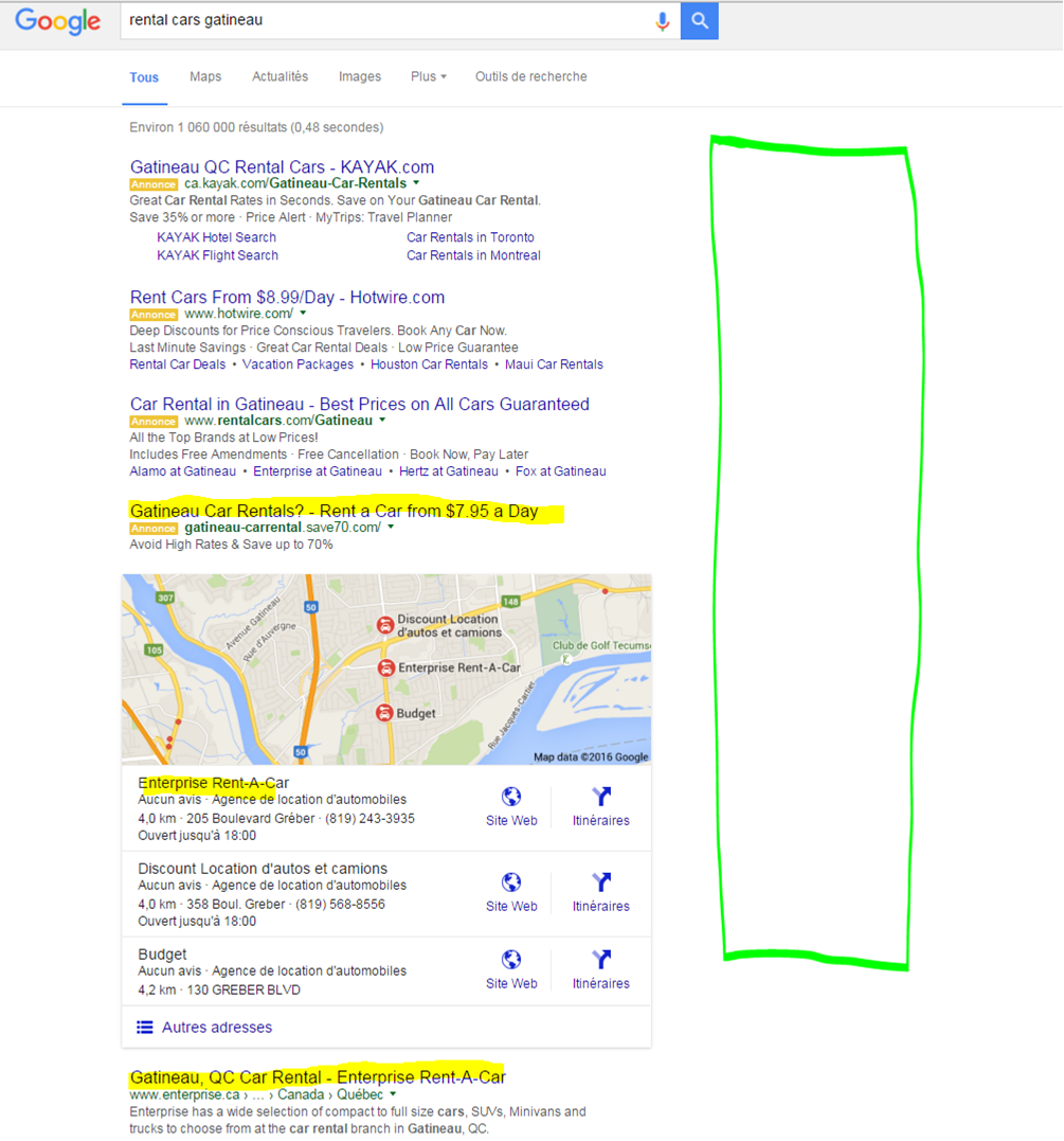 google adwords Gatineau